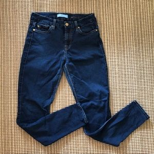 Seven for all mankind b(air) skinny jeans.